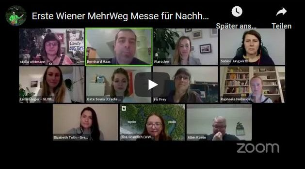 FZA auf der 1. Wiener MehrWeg-Messe 2020